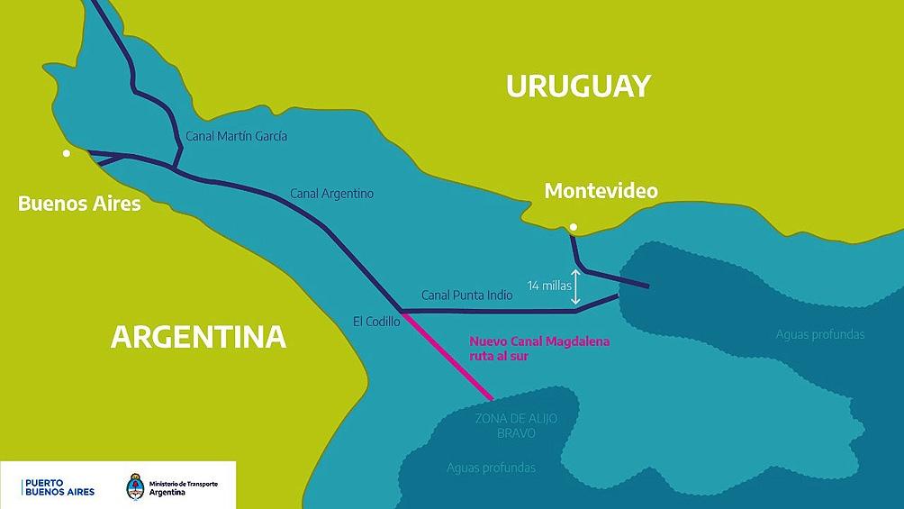 """Encuentro """"Por la Soberanía de la Cuenca del Plata"""": Importante apoyo a la construcción del Canal Magdalena"""