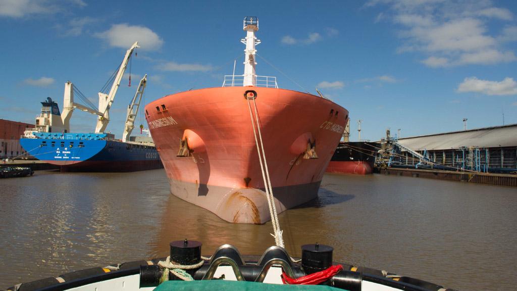 Más de 2 millones de toneladas movilizó el puerto La Plata en el primer semestre