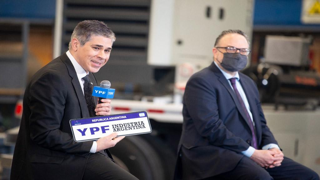 YPF suma producción nacional en Vaca Muerta