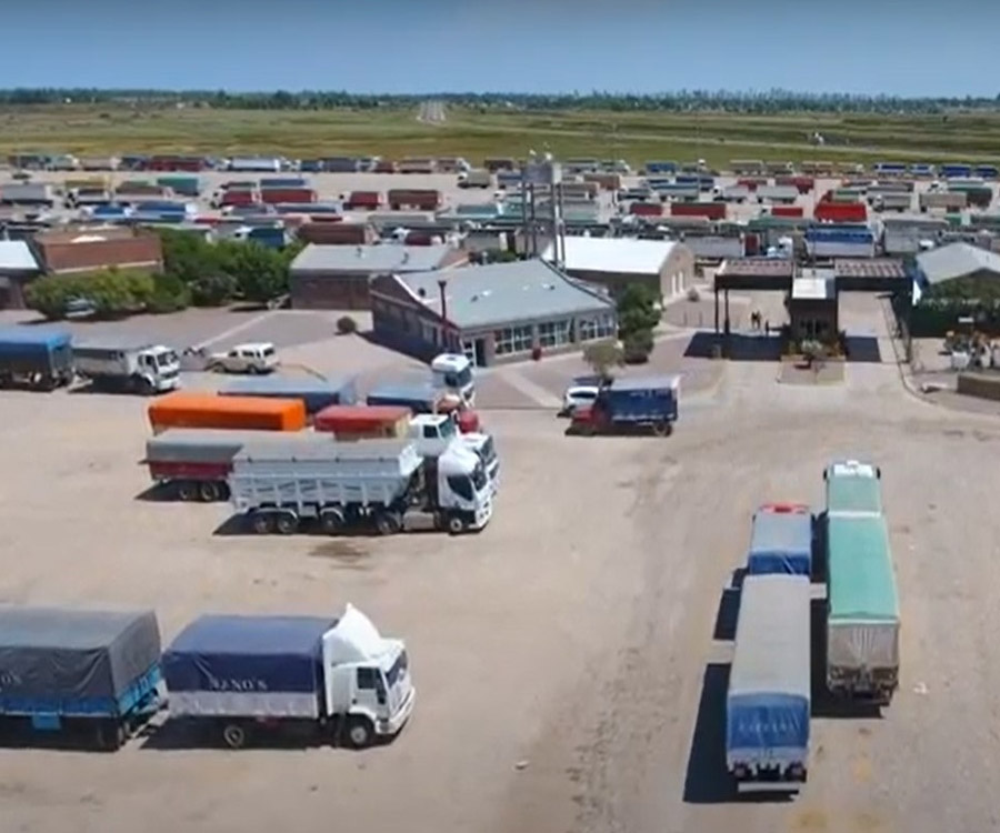 Los autoconvocados levantaron la protesta en los accesos al puerto de Bahía Blanca