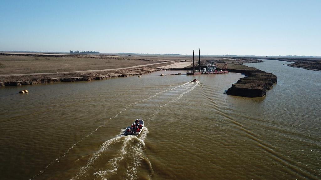 Río Salado: la megaobra de dragado que busca recuperar 8,5 millones de hectáreas