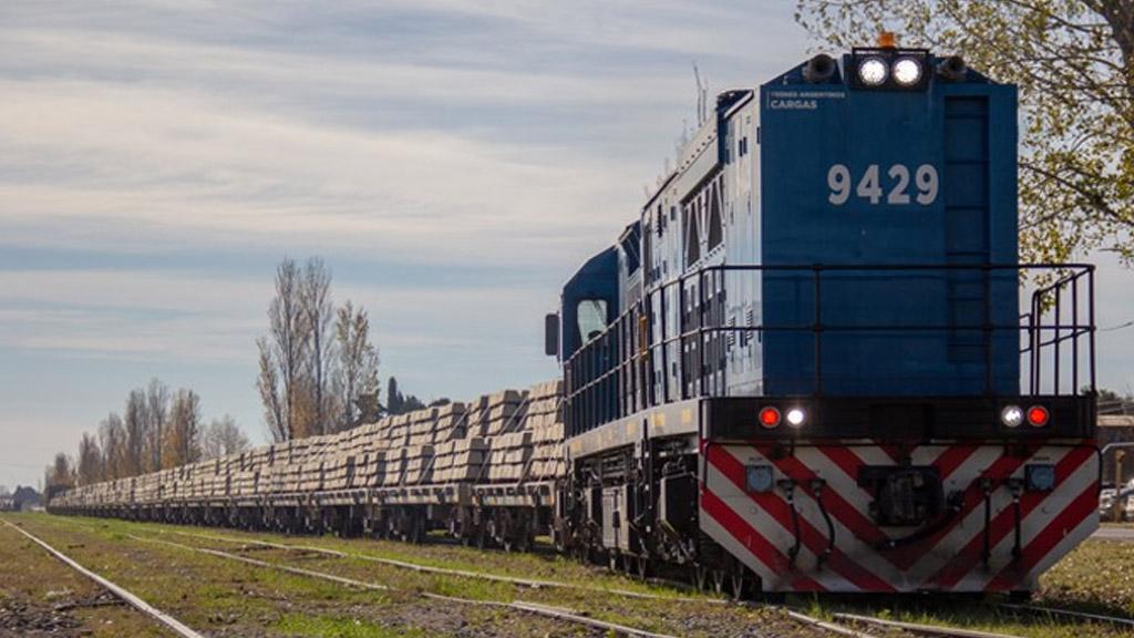 Empresas argentinas fabricarán durmientes sintéticos para la red ferroviaria de cargas