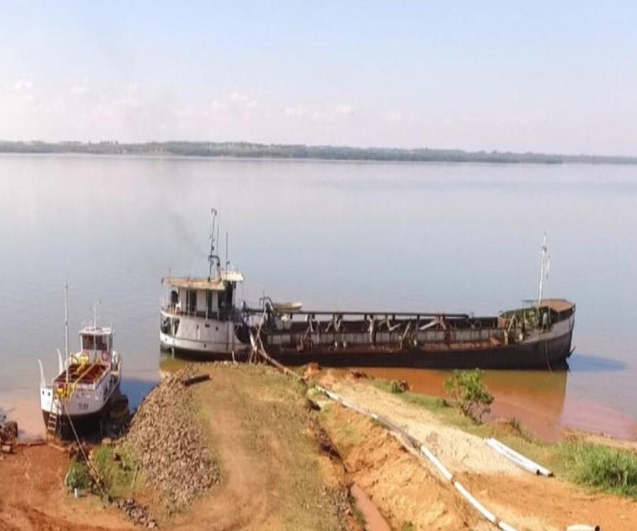 Coordinan acciones de fiscalización y control de buques areneros