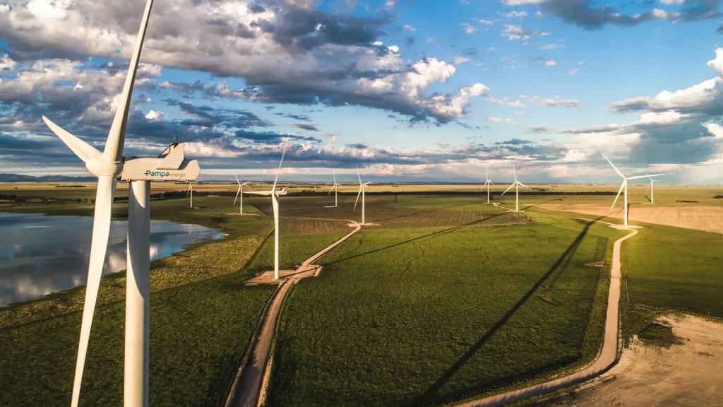 Pampa Energía obtuvo la certificación internacional de sus parques eólicos