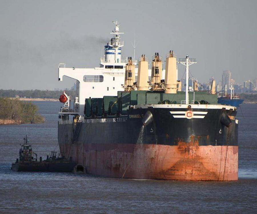 La bajante generó la caída de los precios de exportación en el Gran Rosario