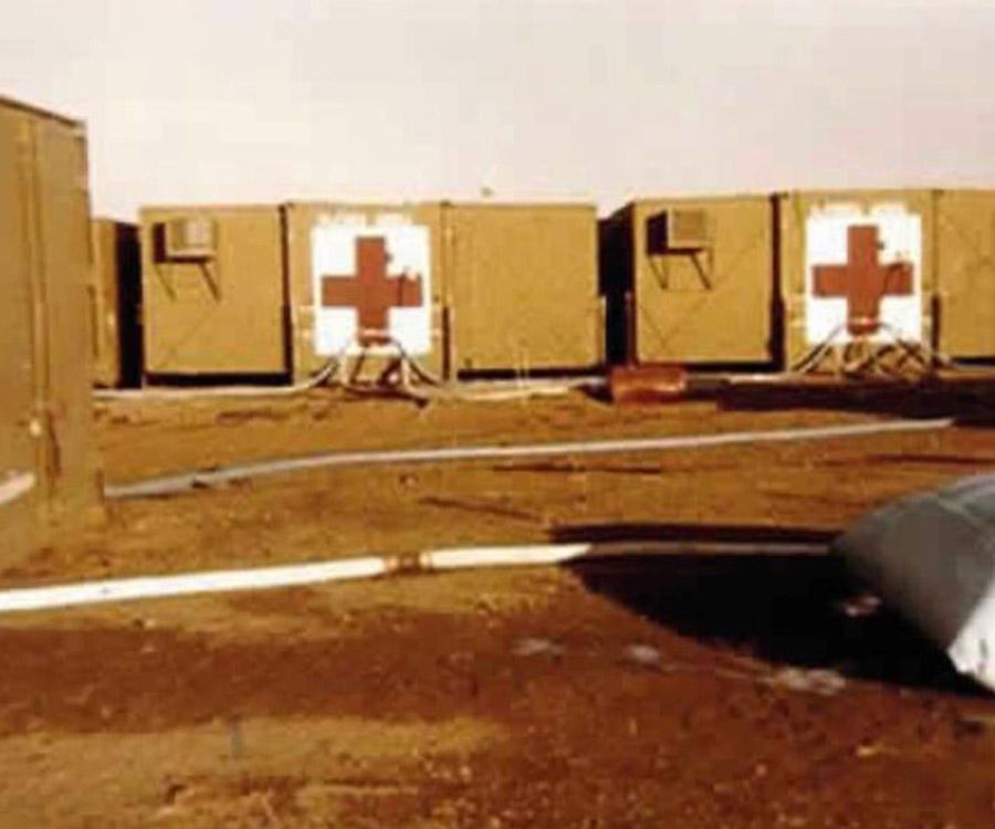 El Hospital Militar Reubicable durante el Conflicto del Atlántico Sur