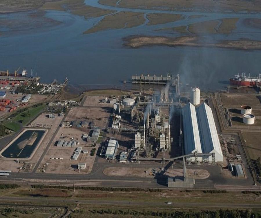 Profertil continúa con las maniobras de arranque de su planta en Bahía Blanca