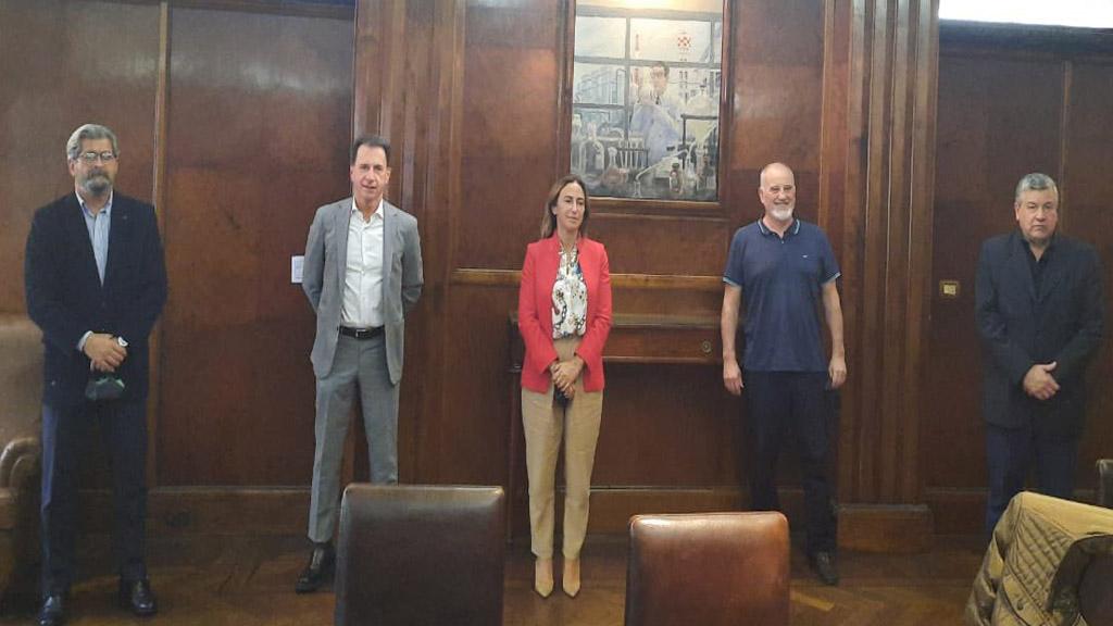 Convenio para potenciar el desarrollo de los puertos de Dock Sud y La Plata
