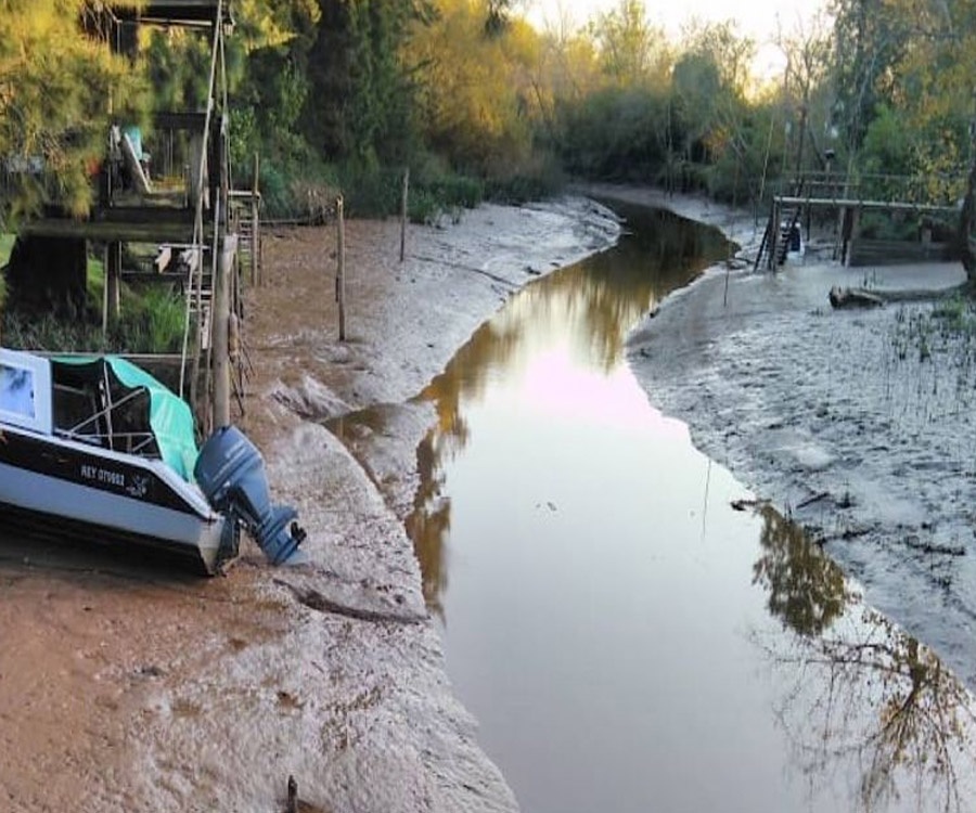 Bajante extrema: el Gobierno bonaerense declaró la emergencia hídrica en el Delta