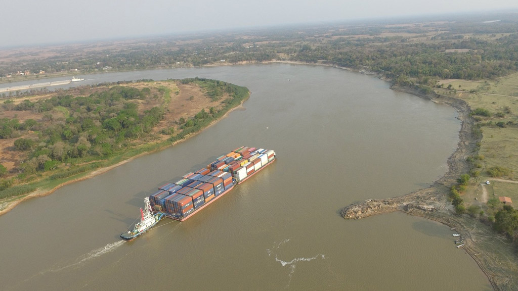 En Paraguay dicen que la navegación está al borde del colapso