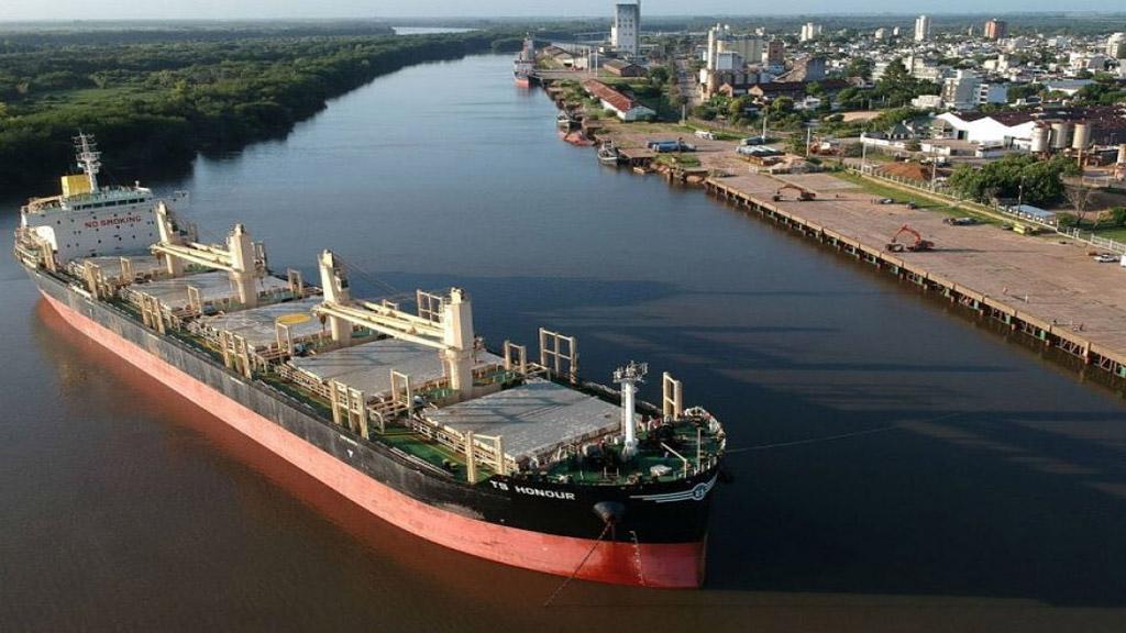 Interés chino en negocios conjuntos con el Puerto de Concepción del Uruguay