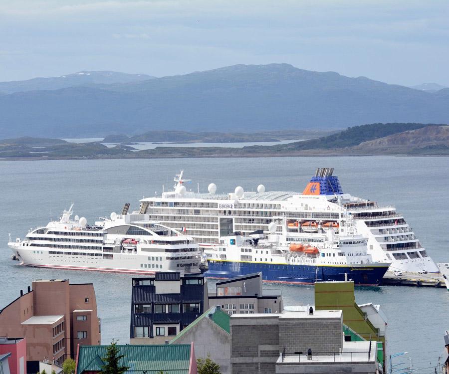Tierra del Fuego y la AGP bonifican la tasa de peajes a cruceros