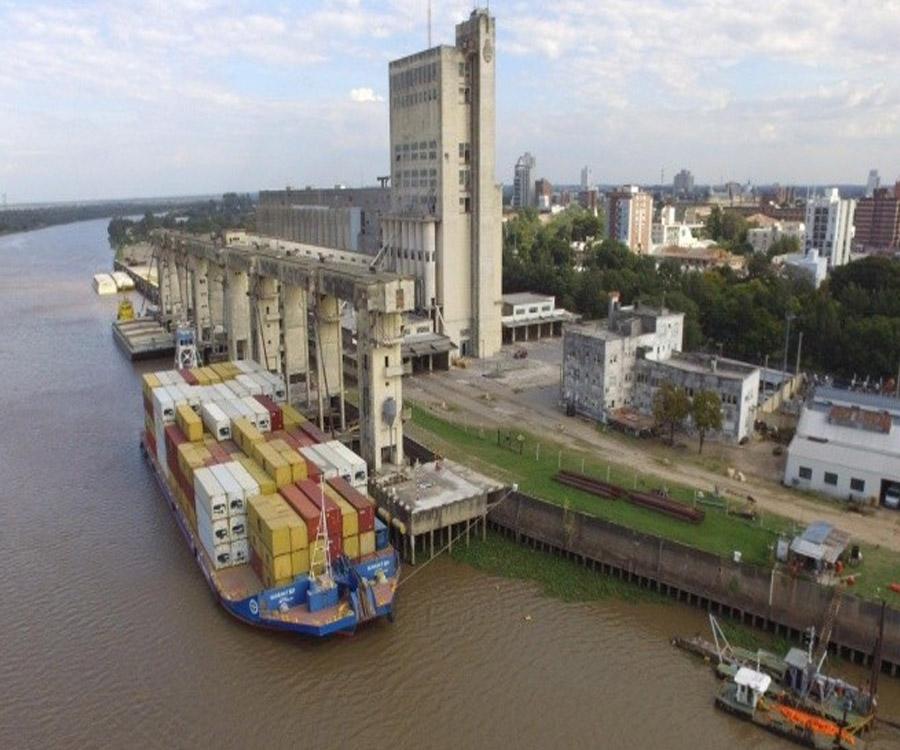 En un mes comenzará el servicio de barcazas con contenedores entre Santa Fe y La Plata