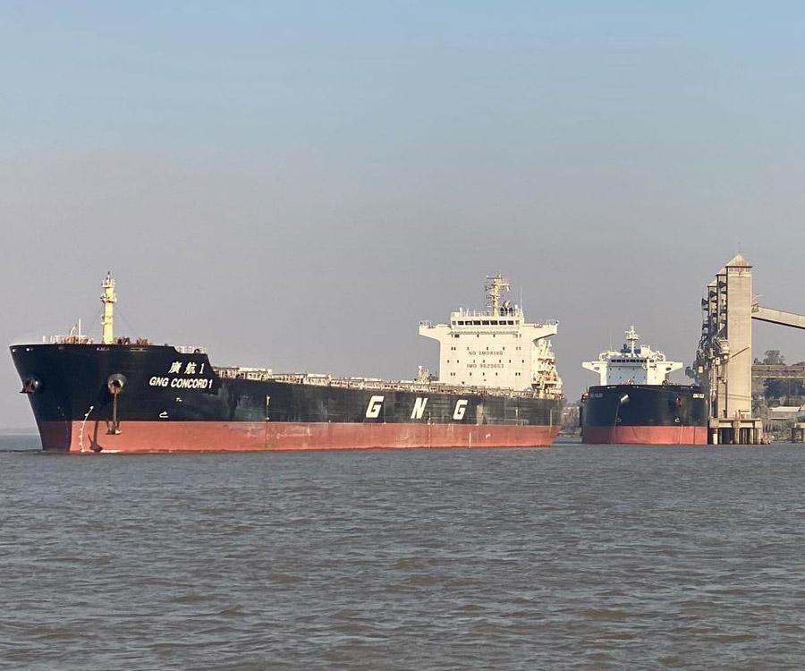 Ya advierten sobre el posible impacto de la bajante en la logística de exportación 2022