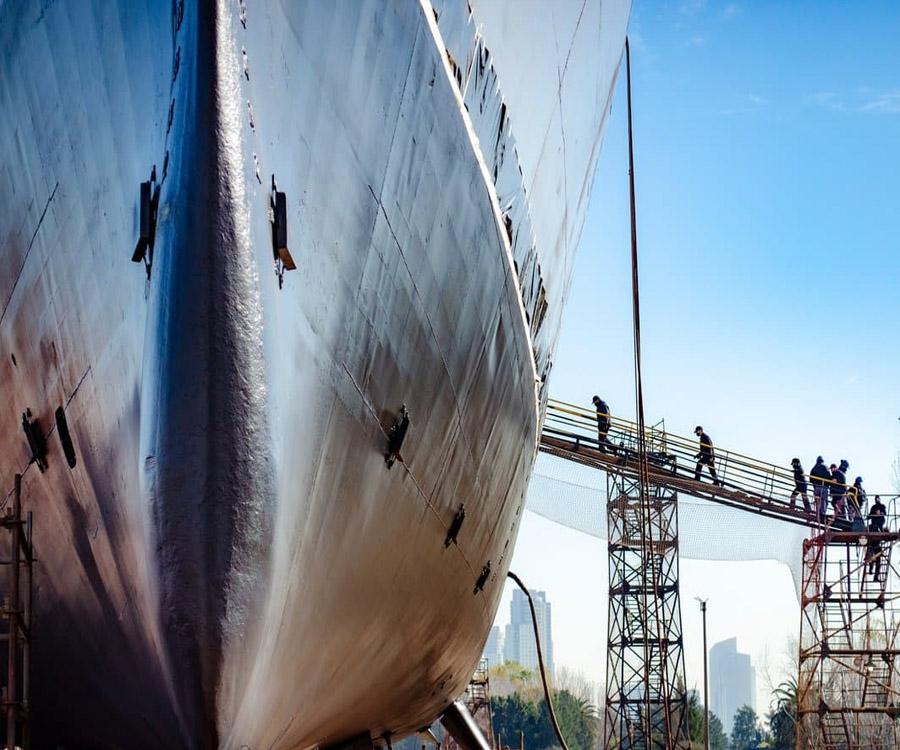 Los astilleros Tandanor y Río Santiago impulsan varios proyectos comunes