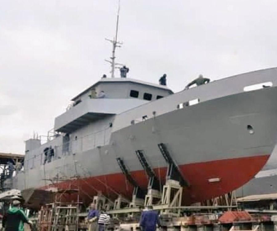 Así es la embarcación que el lunes botará el Astillero Río Santiago