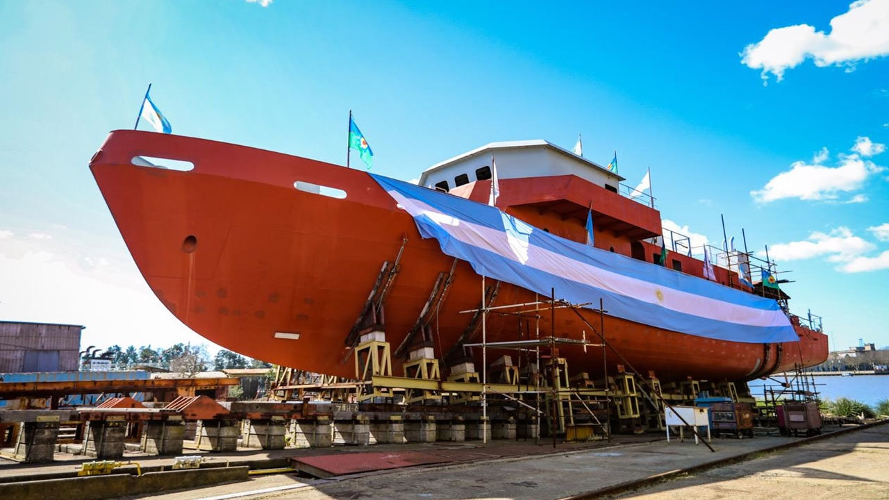 Así serán los dos nuevas unidades de instrucción de la Armada Argentina