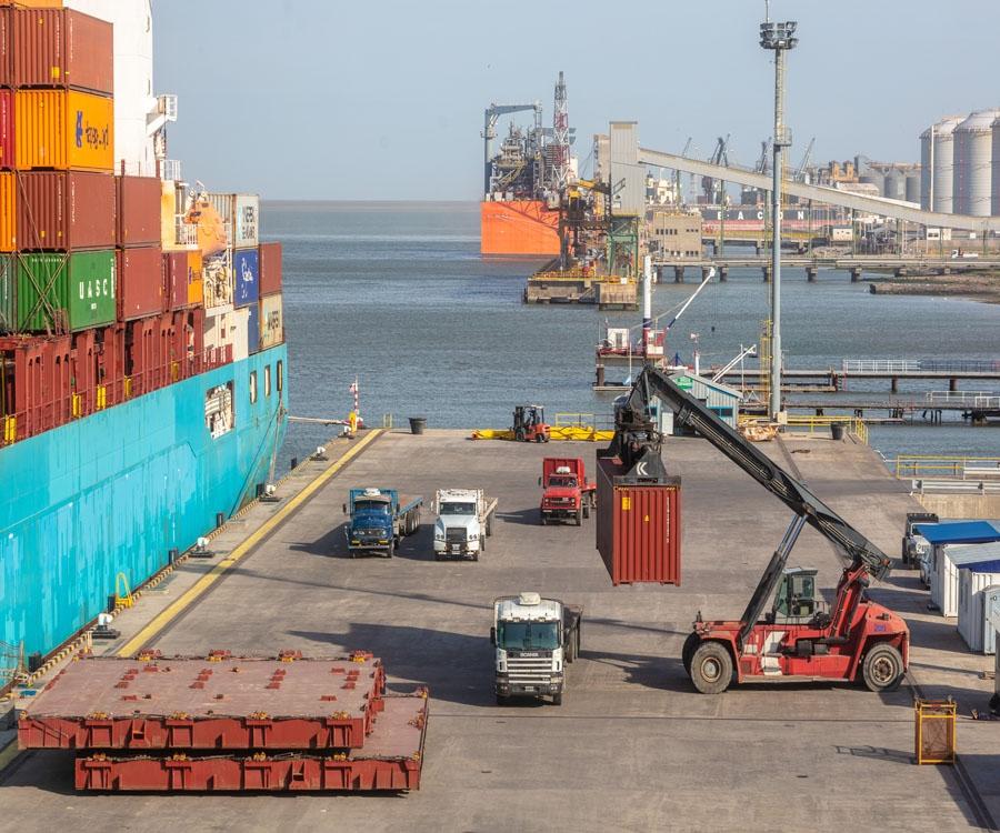 Segundo cuatrimestre en alza en el puerto de Bahía Blanca para ratificar su buen momento