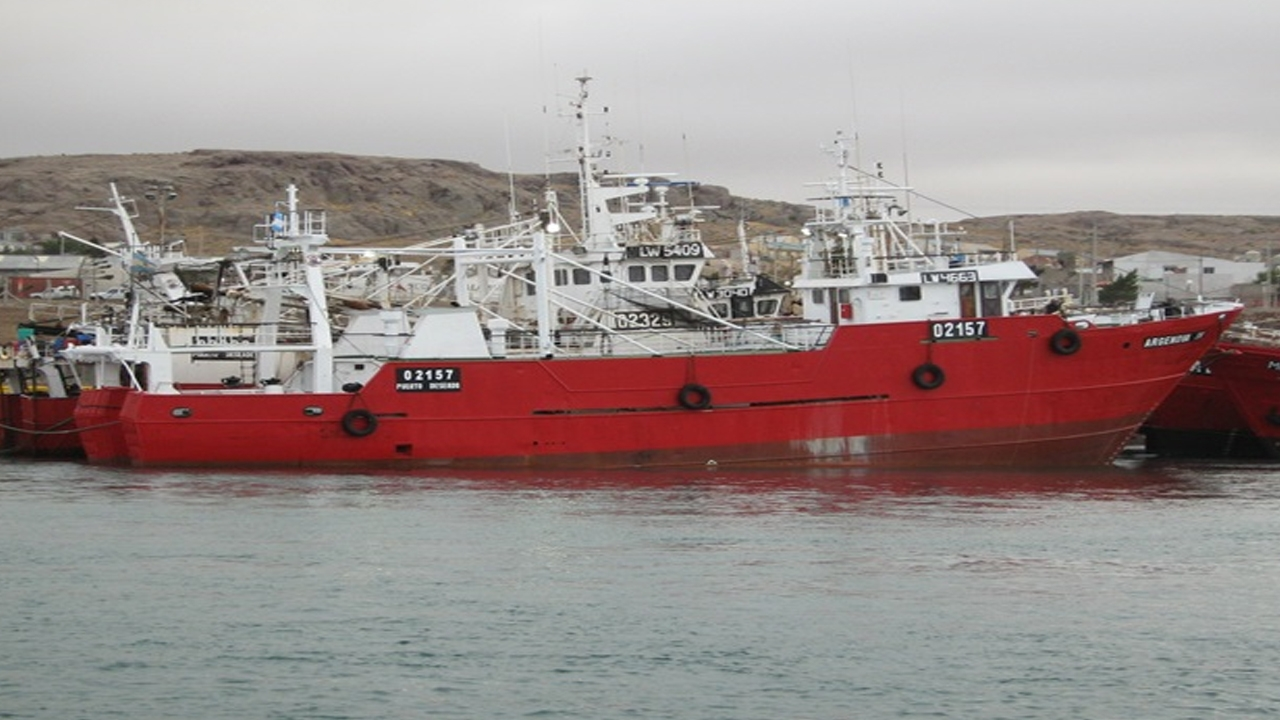 Por coronavirus, el Argenova IV y su tripulación están aislados en el puerto de Bahía Blanca