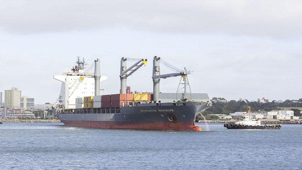 Detalles del plan para chartear un buque portacontenedores en Mar del Plata
