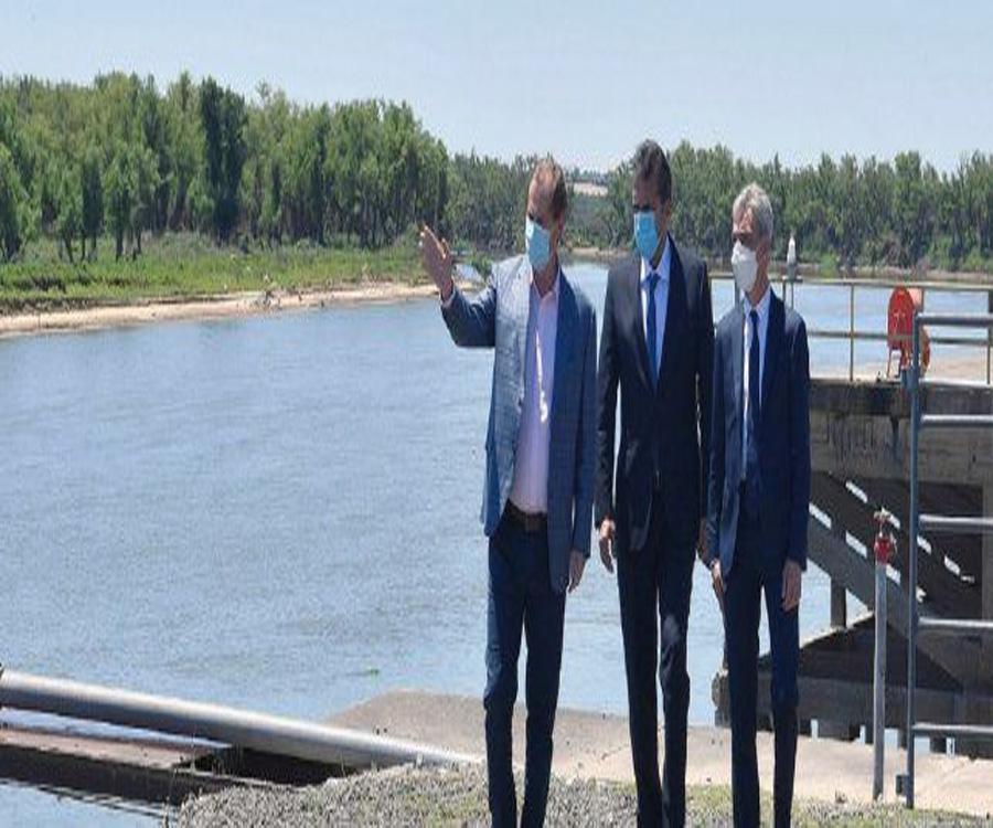 Nación firmó con Entre Ríos convenios para el dragado de los puertos de Ibicuy y Diamante