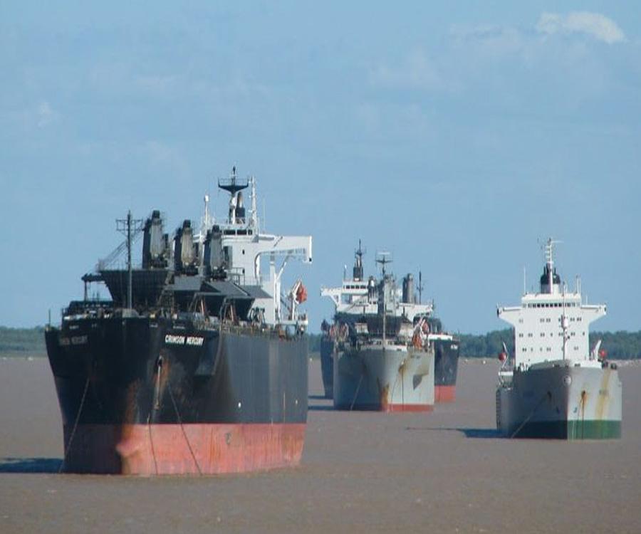 """Hidrovía: """"Queremos maximizar el número de barcos y minimizar peajes"""", dijo Julio Delfino"""