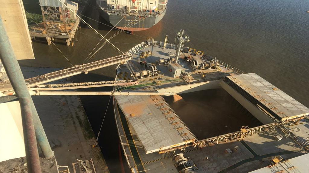 Las medidas de fuerza continúan paralizando los principales puertos del país