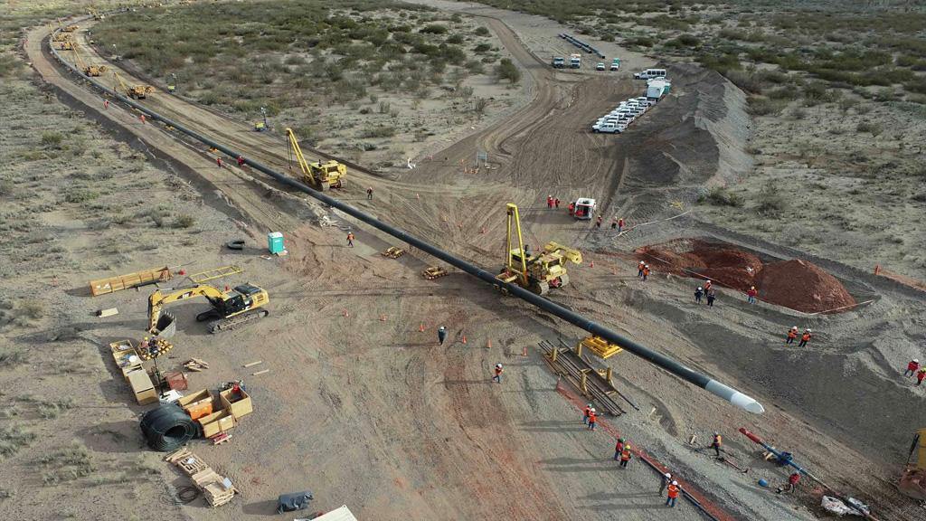 Compañía Mega finalizó un gasoducto clave entre  Tratayén y Loma La Lata