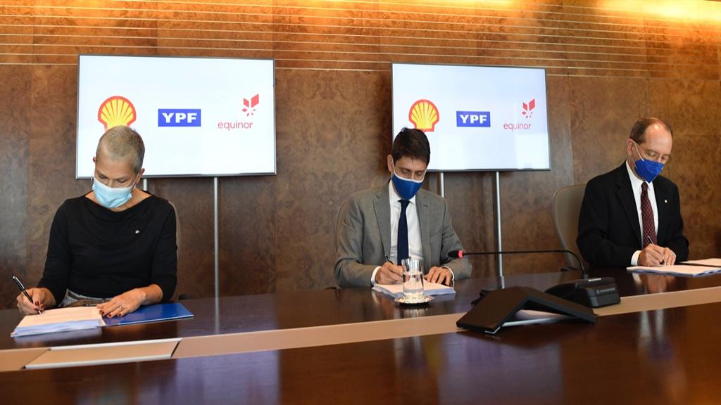 YPF y Equinor suman a Shell para la exploración del área CAN 100 en el offshore del país