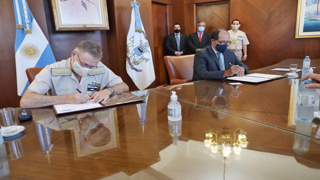 La Prefectura Naval y el Astillero Río Santiago firmaron un convenio de colaboración
