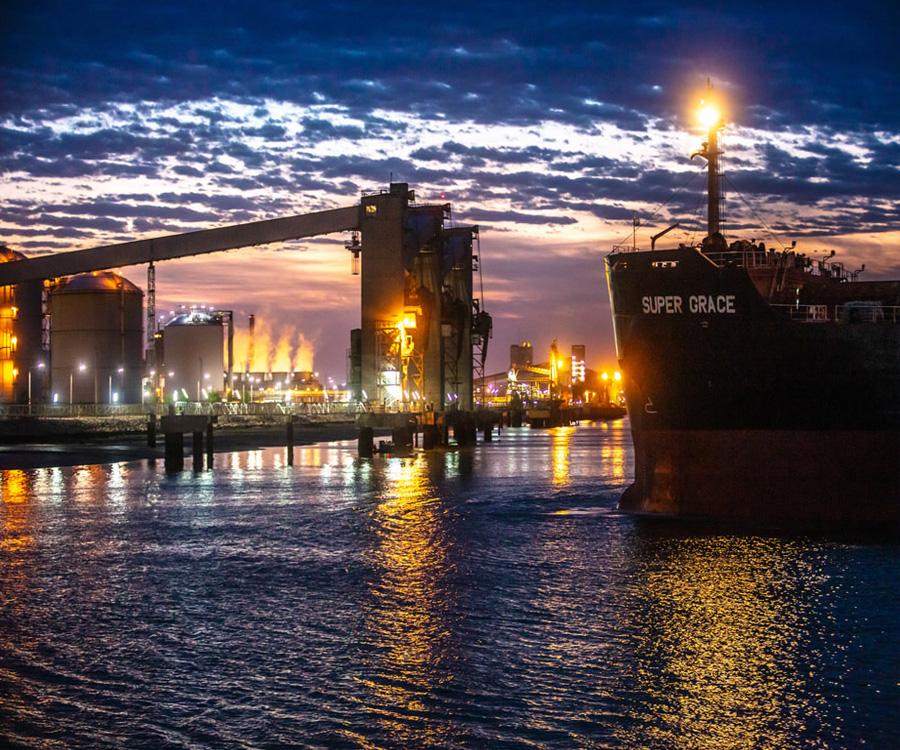 Gran balance operativo y de gestión para el puerto de Bahía Blanca