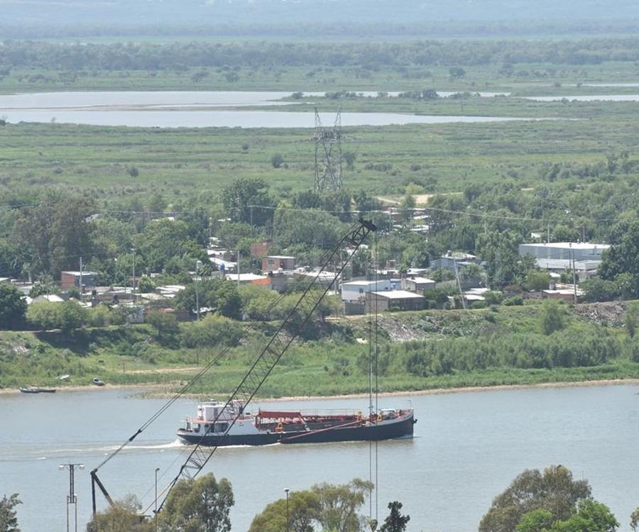 El río Paraná casi quintuplicó su caudal en menos de un mes