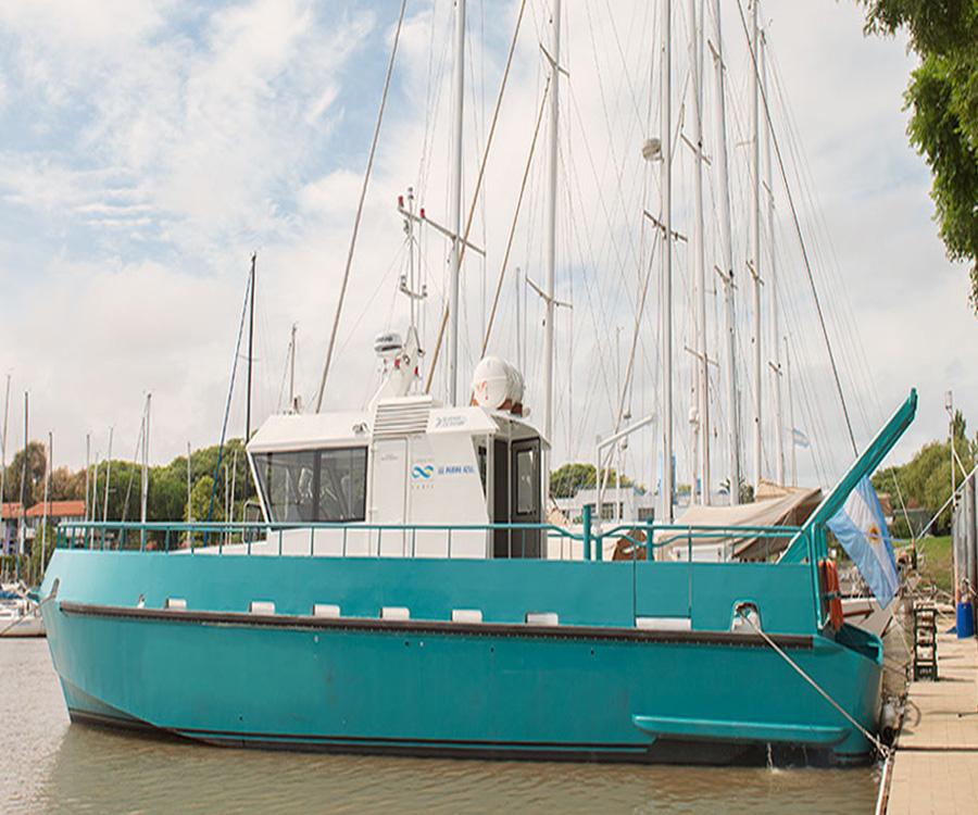 El buque científico Shenu se suma a la flota del Conicet