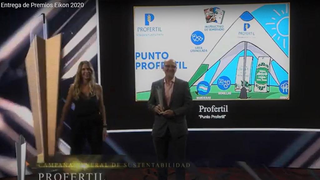 Profertil recibió cuatro premios Eikon a la excelencia comunicacional