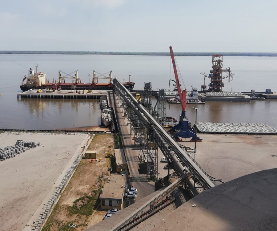 Una empresa argentina construirá y operará un puerto de la Hidrovía en Uruguay