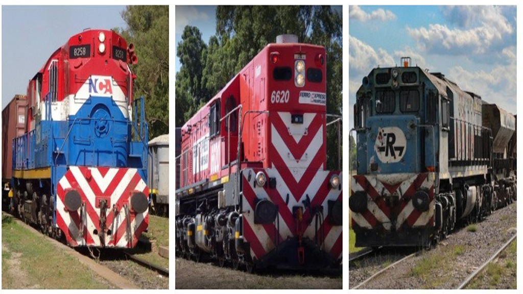 El plan del gobierno para las vías a cargo de NCA, Ferroexpreso Pampeano y Ferrosur Roca