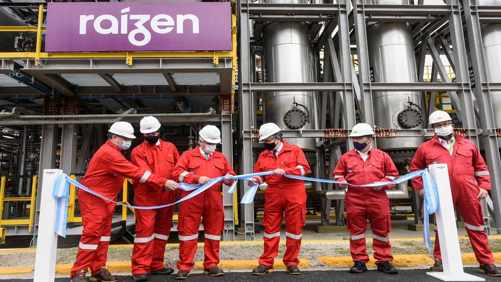 Raízen inauguró una nueva inversión en el área portuario - industrial de Dock Sud