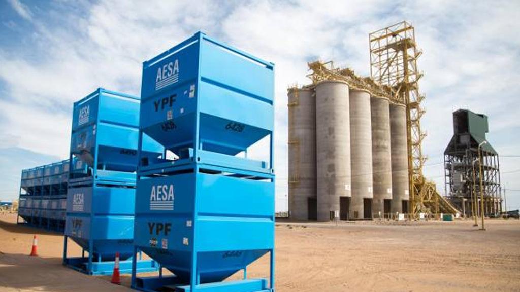 El consumo de arena acompaña el gran aumento de producción en los pozos de Vaca Muerta