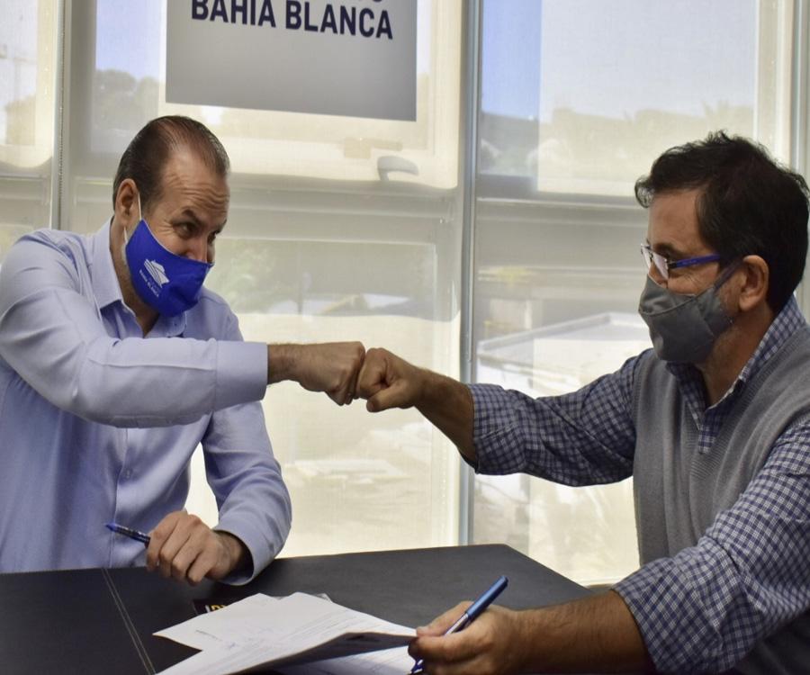 El Puerto de Bahía Blanca financiará mejoras en viviendas de comunidades vecinas