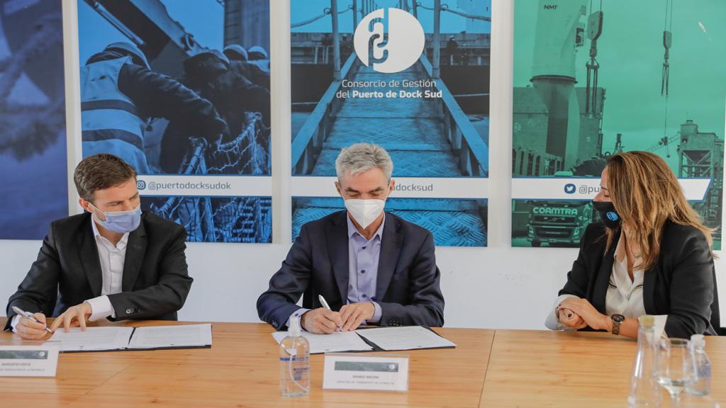 Nación aportará 200 millones de pesos para el dragado del puerto de Dock Sud