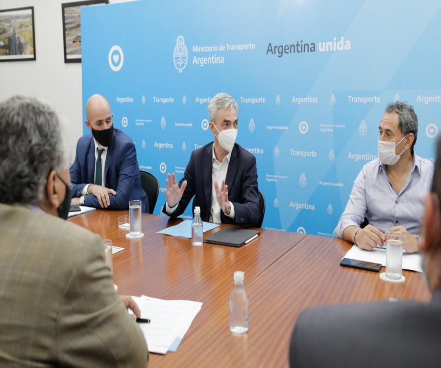 Meoni participó de la primera reunión del Consejo Federal de Logística Multimodal