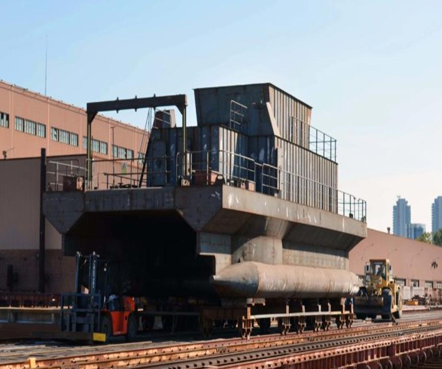 Video: avanza en Tandanor la construcción de un buque hidrográfico del tipo SWATH