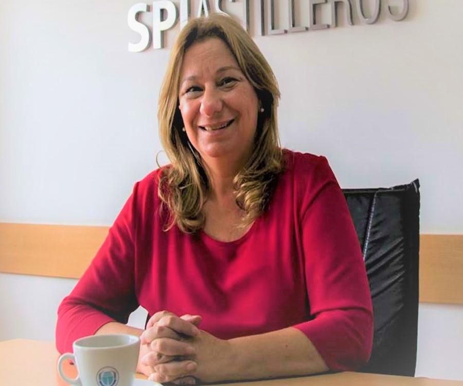 Sandra Cipolla fue electa presidenta de la Asociación Bonaerense de la Industria Naval