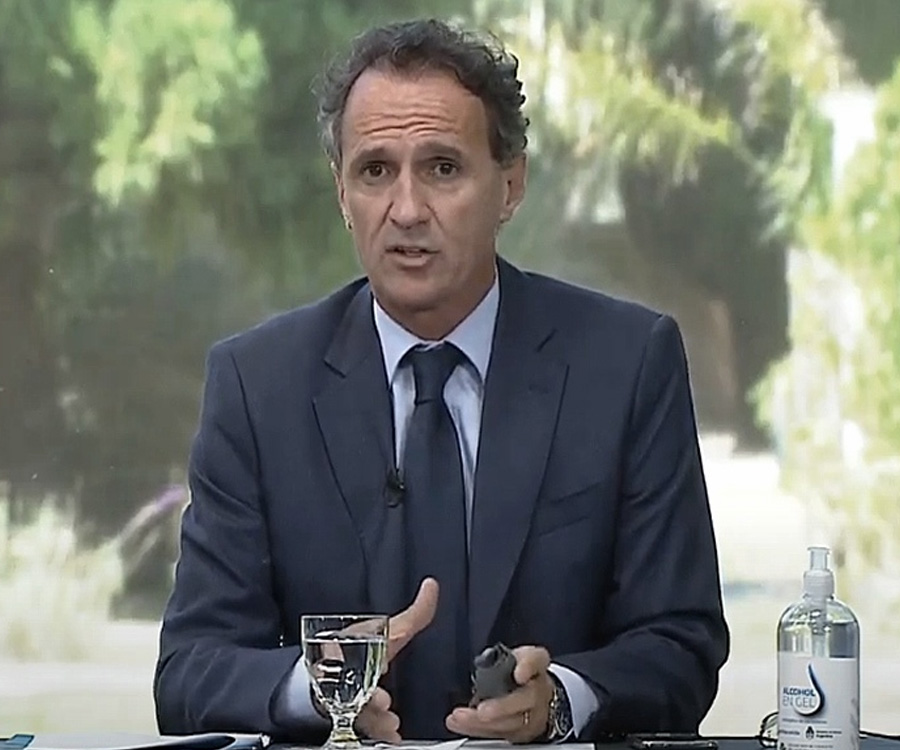 "Gabriel Katopodis se ocupará ""transitoriamente"" del ministerio de Transporte"