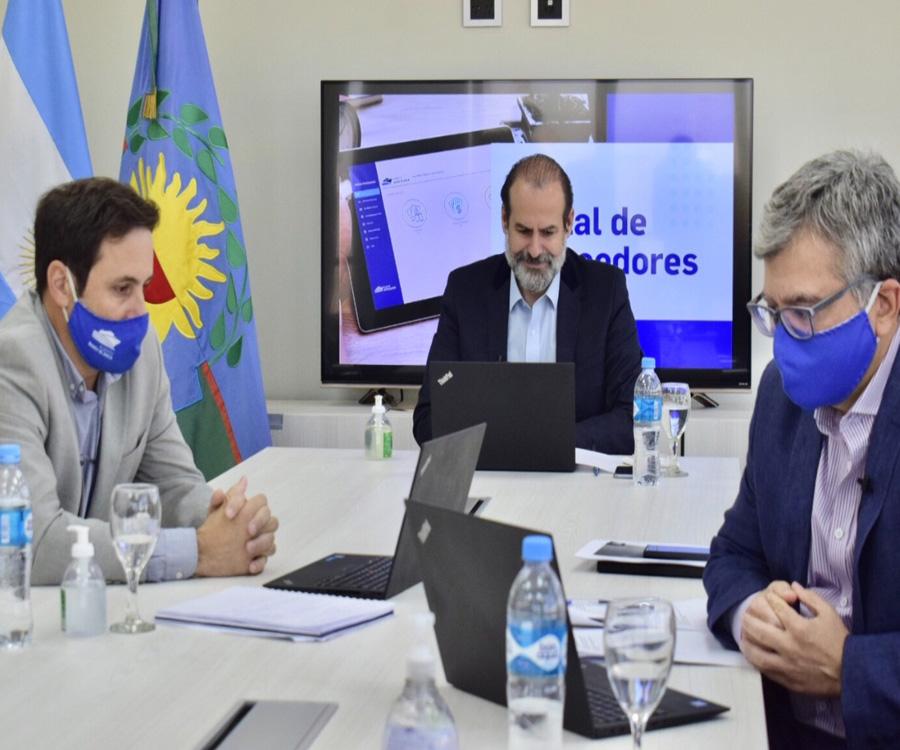 El puerto de  Bahía Blanca presentó su portal de proveedores