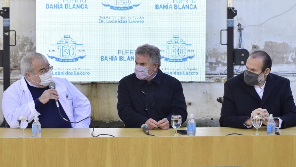 Importantes aportes del puerto de Bahía Blanca a dos hospitales públicos de esa ciudad