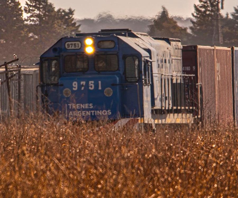 Primer cuatrimestre: récord de 2 millones de toneladas transportadas por trenes estatales
