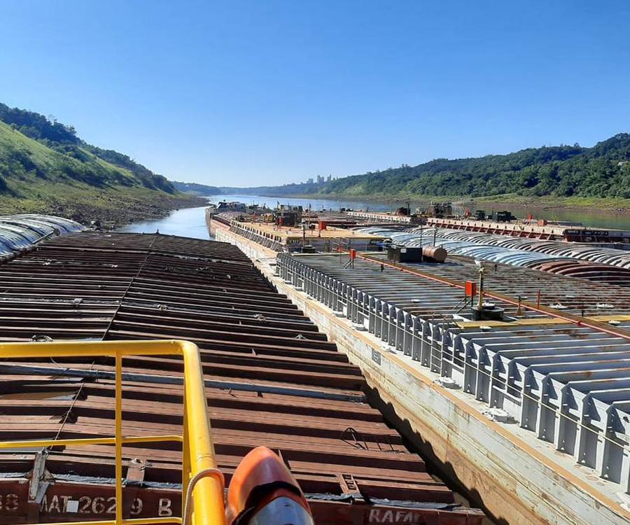 Paraguay acordó con Argentina y Brasil aumentar el caudal del río Paraná