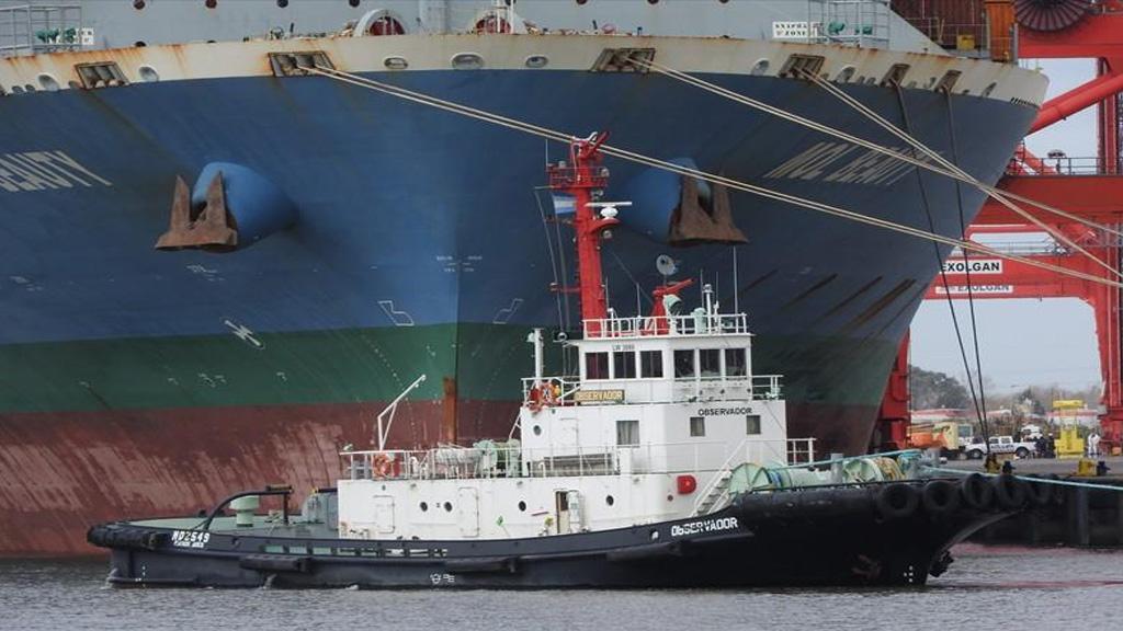 Luctuoso accidente en un remolcador en el área portuaria de Dock Sud