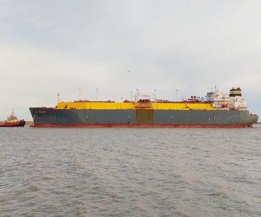 Bahía Blanca: se completó la primera descarga de GNL en el regasificador Exemplar